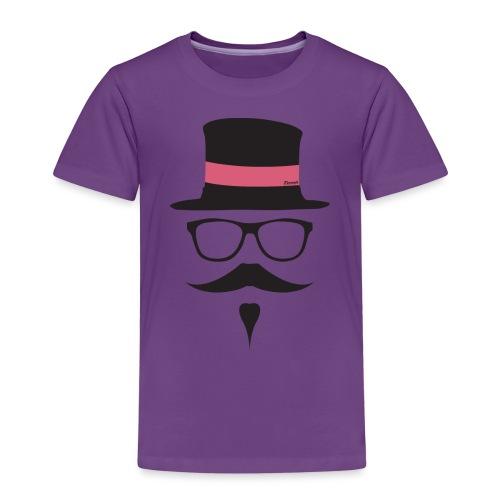 Moustachu Rose (H) - T-shirt Premium Enfant