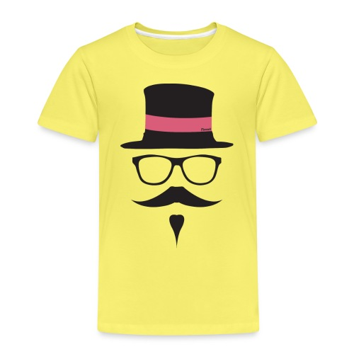 Moustachu Rose (H) - T-shirt Premium Enfant