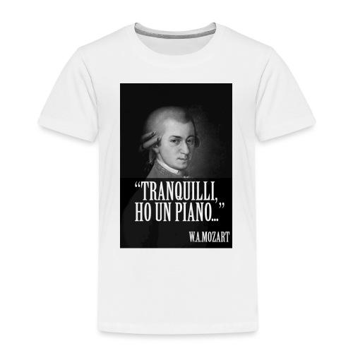 Mozart - Maglietta Premium per bambini