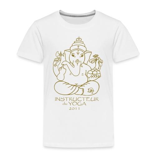 Instructeur de Yoga 2011_ - Kinder Premium T-Shirt