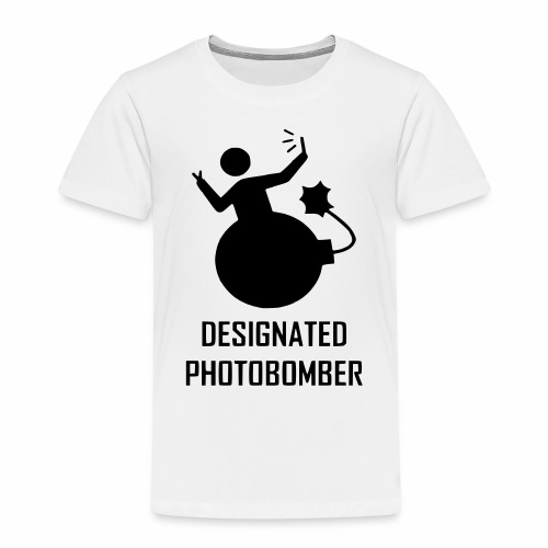Designated Photobomber - Kids' Premium T-Shirt
