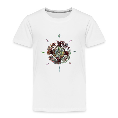 Seed leaf wheel - Kids' Premium T-Shirt