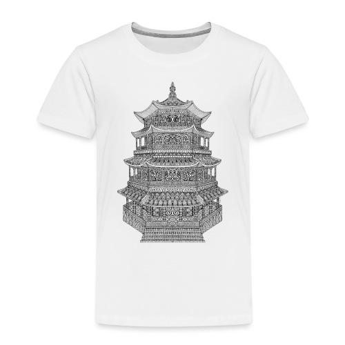 Pagode batiment japonais - T-shirt Premium Enfant