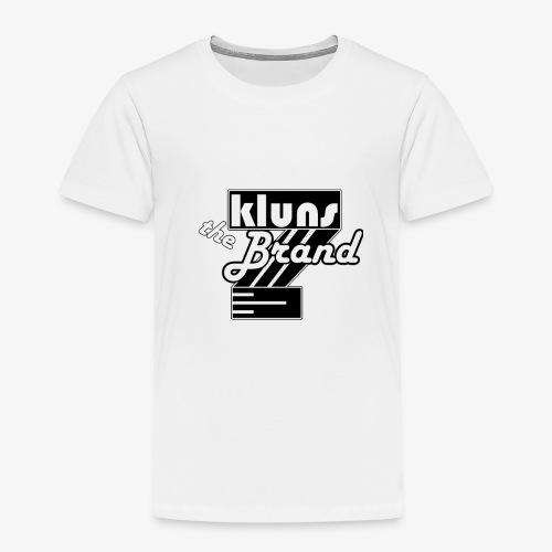 Kluns the Brand - Børne premium T-shirt