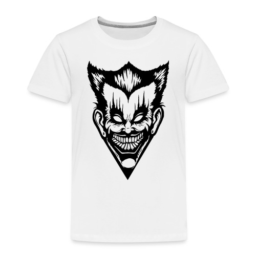 Horror Face - Kinder Premium T-Shirt