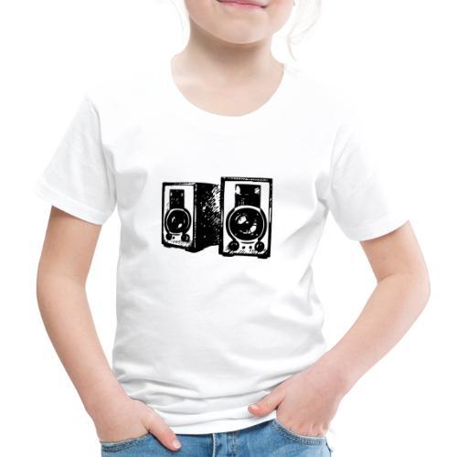 DJ Symbol Musik Musiker Musikboxen - Kinder Premium T-Shirt