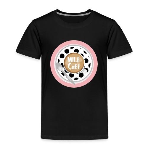 Milfcafé - MILF Logo Instagram Blogger Musthave - Kinder Premium T-Shirt