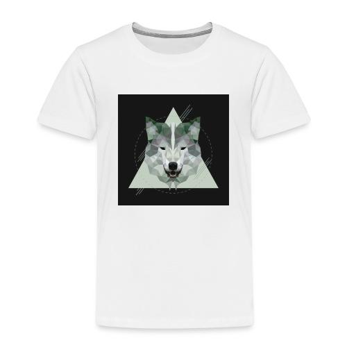 Geo wolf - Kids' Premium T-Shirt