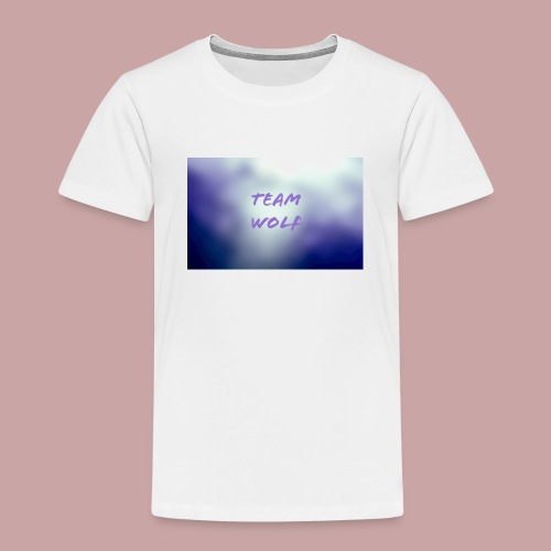 Team Wolf Box - Kids' Premium T-Shirt