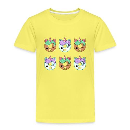Unicorn Donut - Maglietta Premium per bambini