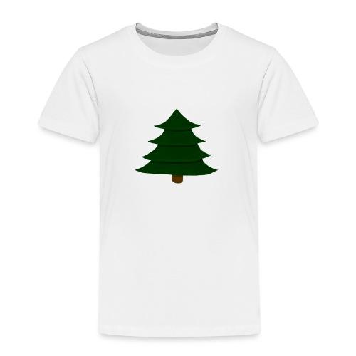 Prosta Choinka - Koszulka dziecięca Premium