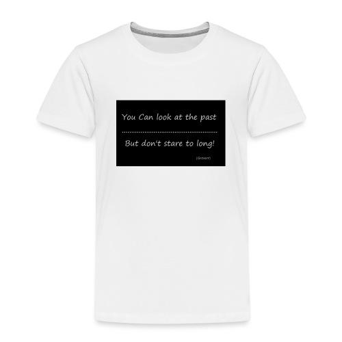 past - Kinderen Premium T-shirt