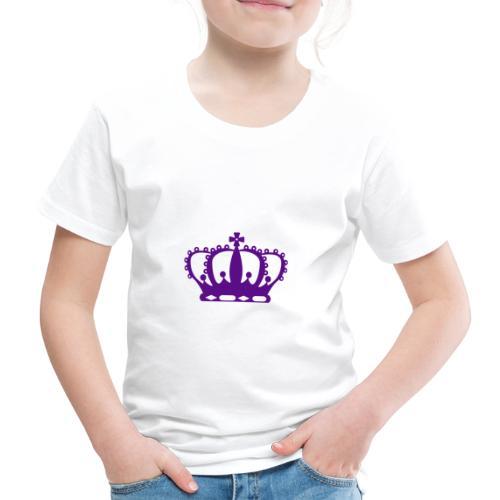 Purple Crown - Kids' Premium T-Shirt