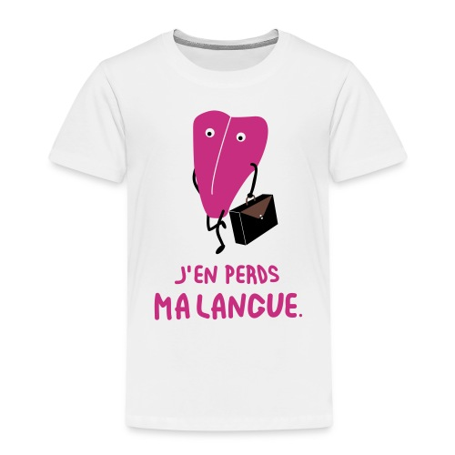 j'en perds ma langue - T-shirt Premium Enfant