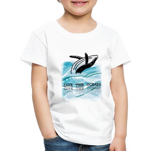 SAVE THE OCEANS - Kinder Premium T-Shirt