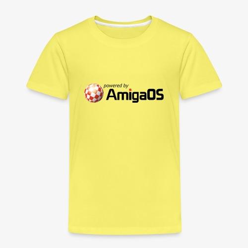 PoweredByAmigaOS Black - Kids' Premium T-Shirt