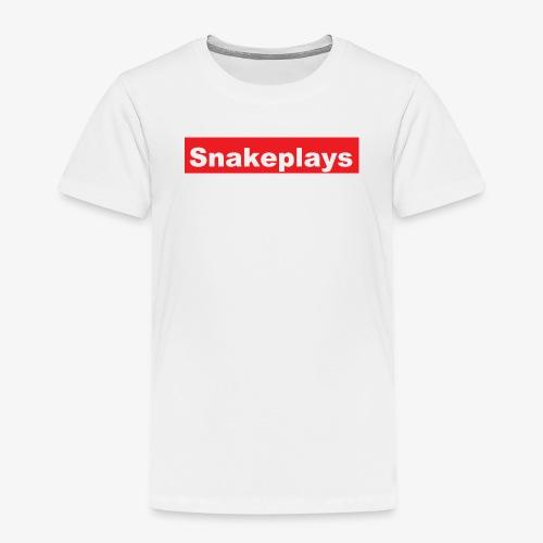 snakeplays original - Premium T-skjorte for barn