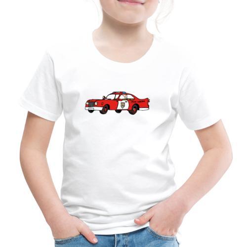 fire chief car - Kinder Premium T-Shirt
