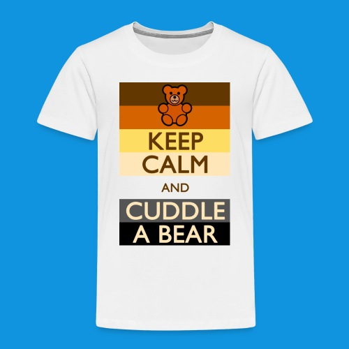 Calm Bear pocket tank - Kids' Premium T-Shirt