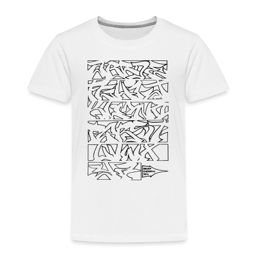 ALPHABET SOMER - T-shirt Premium Enfant