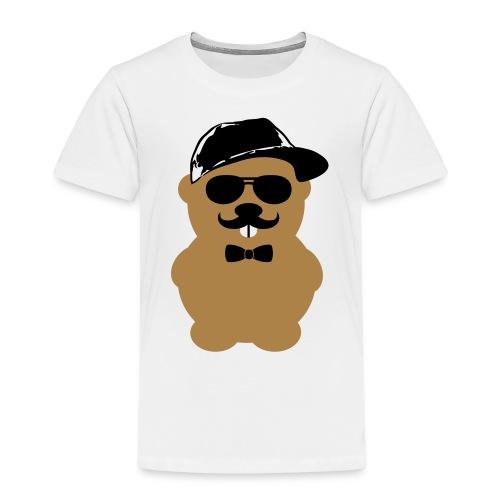 Hipster Hamster 2 - Kinder Premium T-Shirt