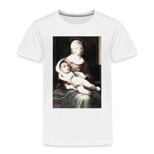 Madonna met middeleeuwse baby. - Kinderen Premium T-shirt