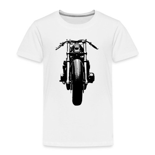 Motorcycle Front - Kids' Premium T-Shirt
