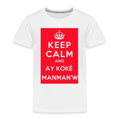 keepcalm MANMANW - T-shirt Premium Enfant