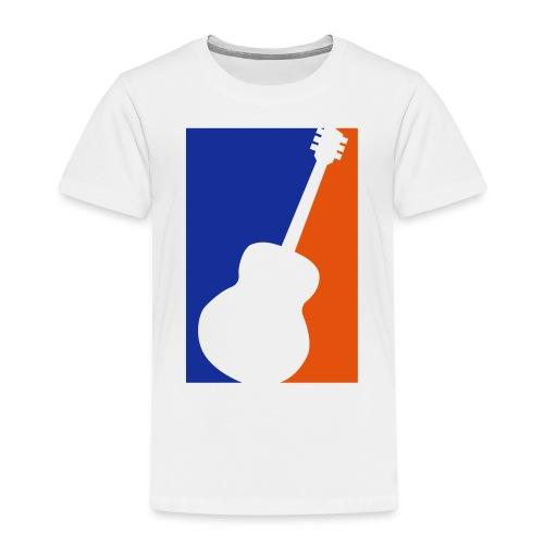 Gitarre (Baseball Style) - Kinder Premium T-Shirt