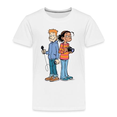 GEOlino Wadenbeißer-Comic: Redaktionsteam - Kinder Premium T-Shirt