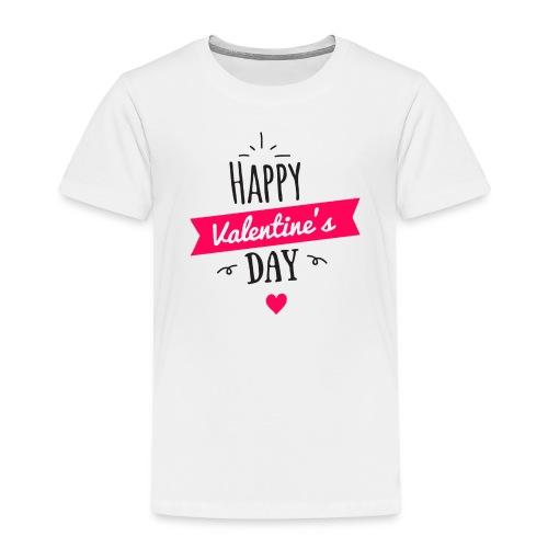 Valentinstag Liebe Freund Freundin Geschenk Idee - Kinder Premium T-Shirt