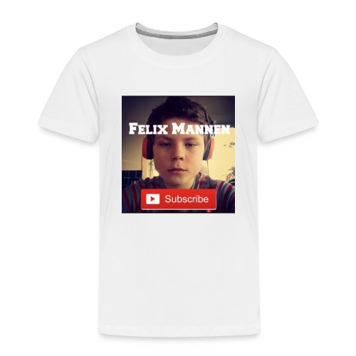 Felix Mannen Logga - Premium-T-shirt barn