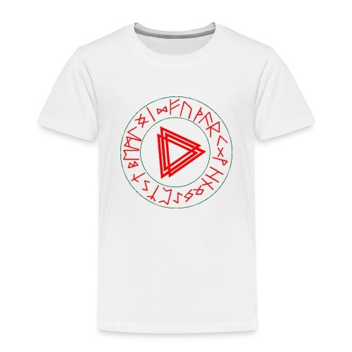 Runen Kreis - Kinder Premium T-Shirt