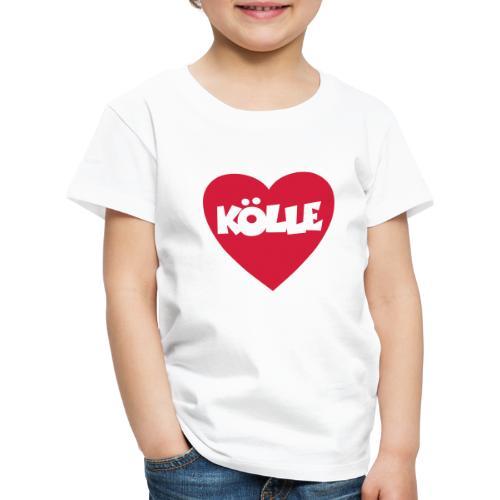 I Love Kölle - Ein Herz für Köln - Kinder Premium T-Shirt