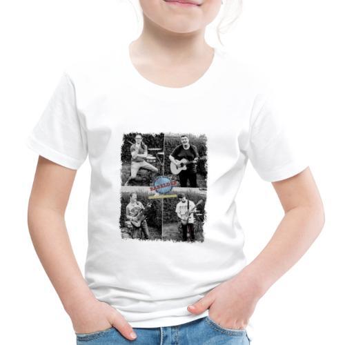 Rabalder Band Members Black & White - Børne premium T-shirt