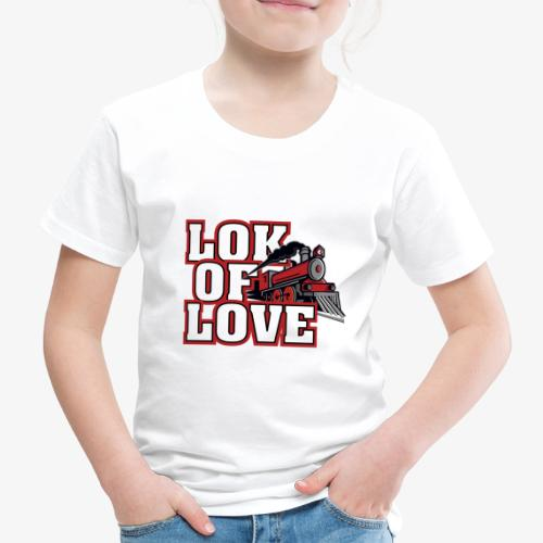 LOK OF LOVE 3 - Kinder Premium T-Shirt