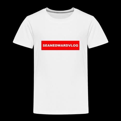seanedwardvlogs red box style - Kids' Premium T-Shirt