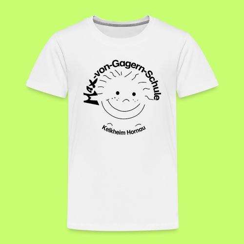 Mäxchen Logo schwarz - Kinder Premium T-Shirt