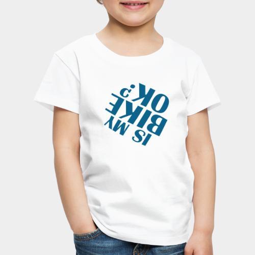 accident de vélo chute - T-shirt Premium Enfant