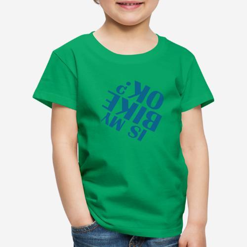 Fahrradunfall fallen - Kinder Premium T-Shirt