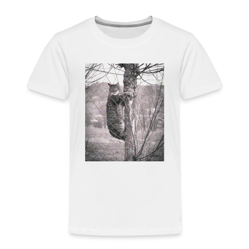 Grumpy Koala Katze im Baum - Kinder Premium T-Shirt