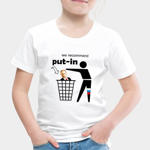 GHB Put in for recycling 190320182 - Kinder Premium T-Shirt