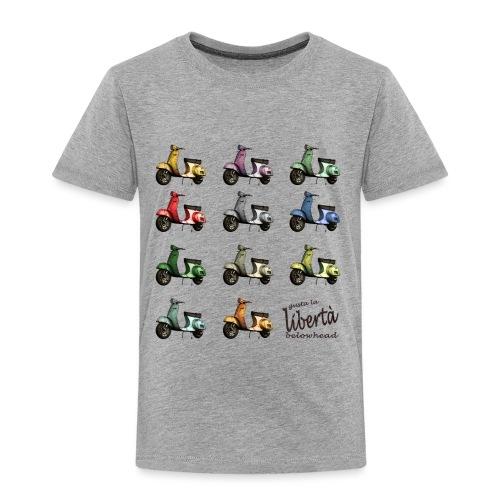 ♂ BIO-SHIRT: gusta la libertà - Kinder Premium T-Shirt