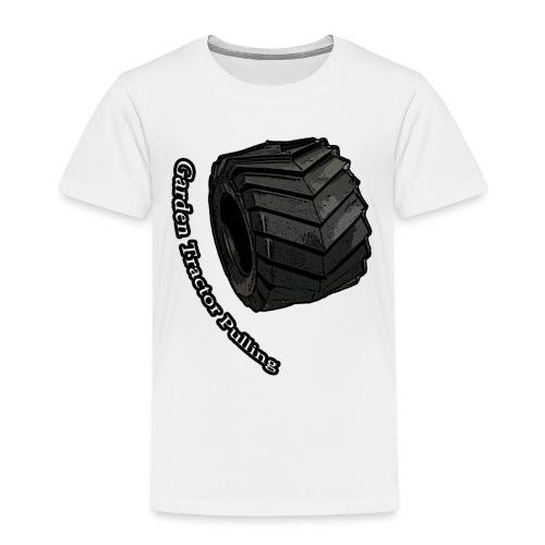 Børne Tractor pulling - Børne premium T-shirt
