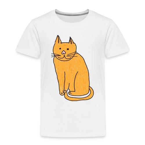 Cat Travel Mug - Kids' Premium T-Shirt