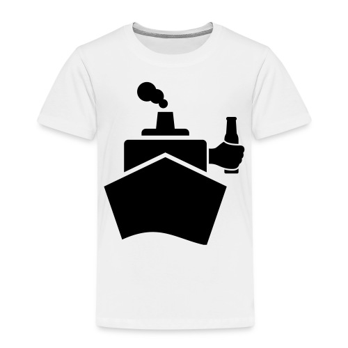 King of the boat - Kinder Premium T-Shirt