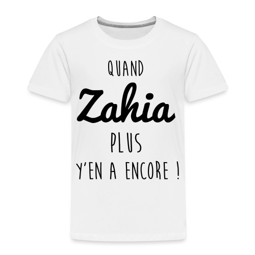 Femme de footballeur - T-shirt Premium Enfant