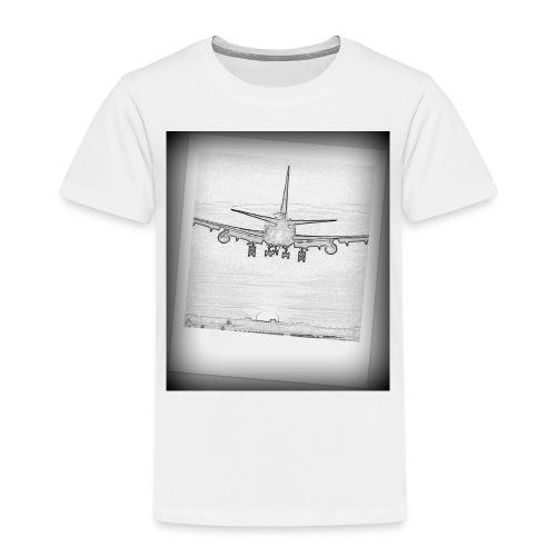 747 - Camiseta premium niño