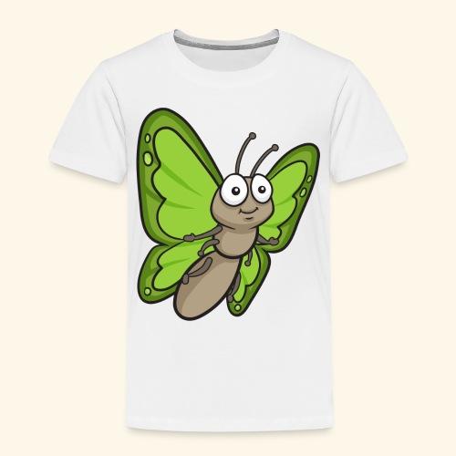 Butterfly Cartoon - Kids' Premium T-Shirt