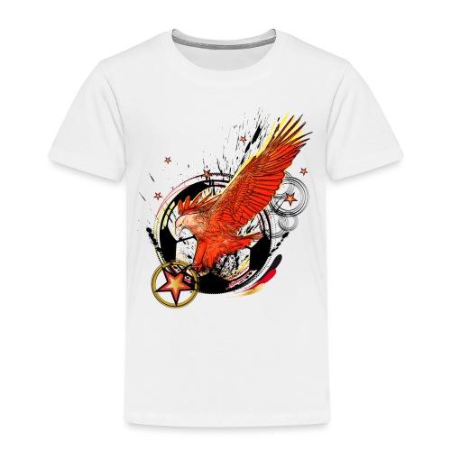 Adler mit Deutschland Stern - Kinder Premium T-Shirt